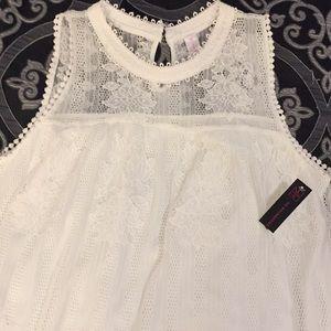 NWT Lacy Mini Dress!